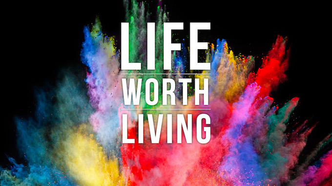 Life Worth Living logo Rock Springs Church Cortez CO
